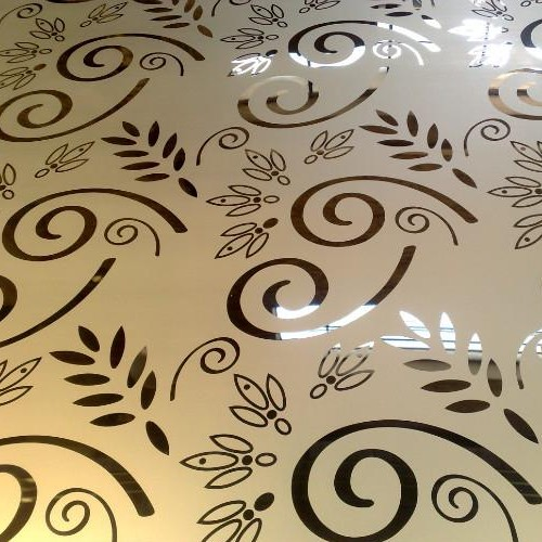 Etched Stainless Steel Sheet-1