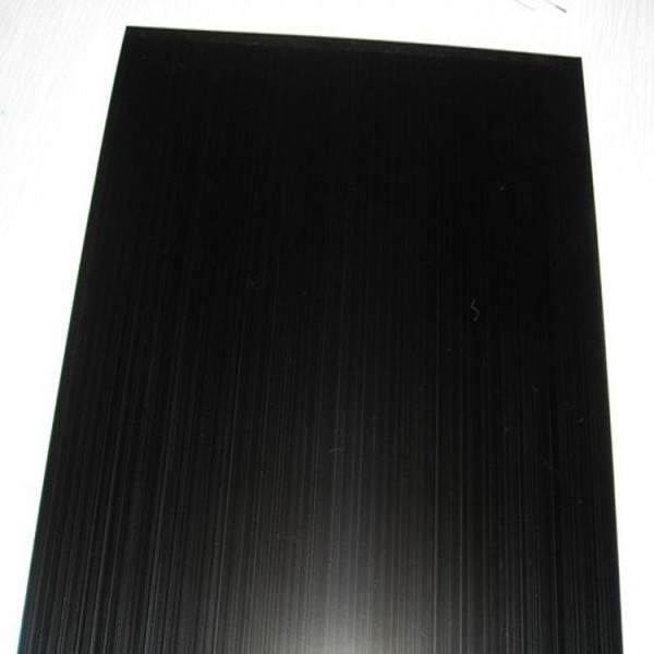 Hairline Brushed Stainless Steel Sheet-Black