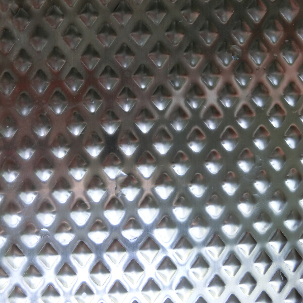 Stamped Stainless Steel Sheet-Diamond 4