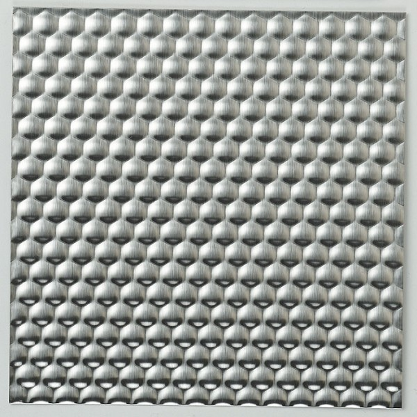 Stamped Stainless Steel Sheet-Hexagon 2