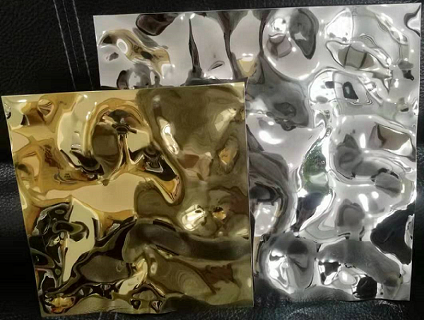 Stamped Stainless Steel Sheet-Wave