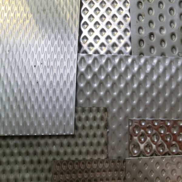 Stamped Stainless Steel Sheet 2
